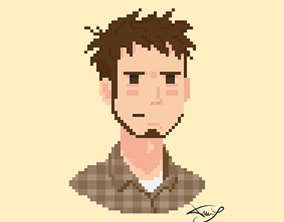 Pixel People Gif