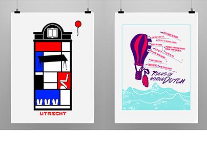Dutch Design Posters   Amsterdam Study Abroad