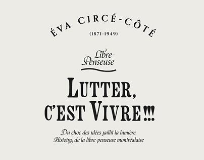 Exposition - Lutter, c'est vivre!!!