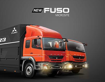 New Fuso - Microsite