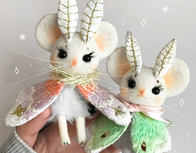 Mousemoth Doll