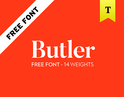 Butler - FREE FONT - 14 weights