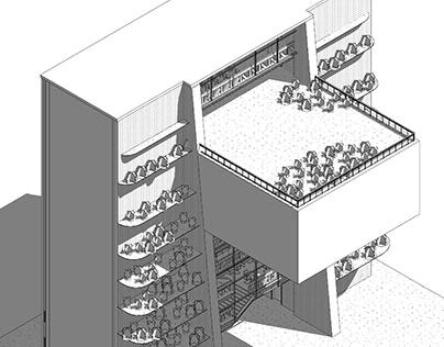 Edificio pipi - Lab elem naturales y estructuras