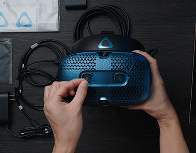 HTC VIVE - Cosmos Unboxing