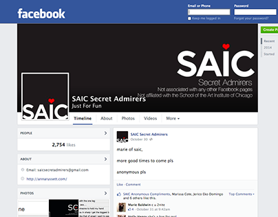 SAIC Secret Admirers