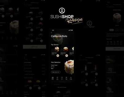 SushiShop - App UI/UX