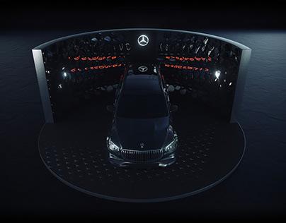 Mercedes-Benz. Car display