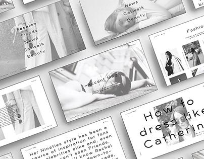 Accent Magazine | UiUx Design