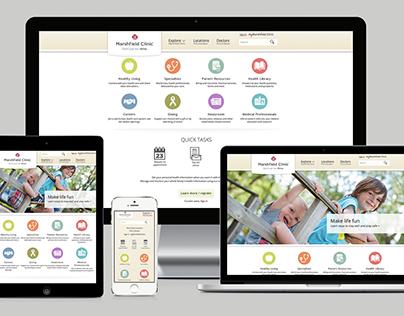 Marshfield Clinic | Website Design