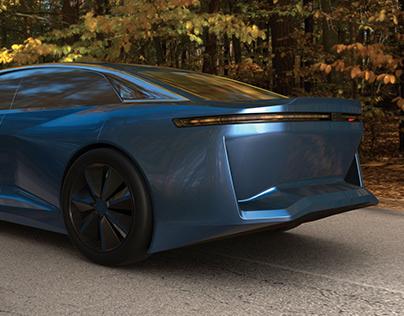 ED Design - Luxury Sedan Vision