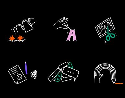 Icons for Yandex.Zen