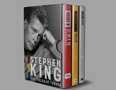 BOX Stephen King (Redesign de Capa dos Livros)