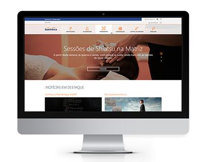 Novo Portal de Funcionários da SulAmérica