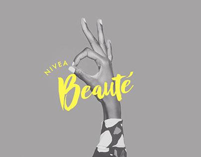 Nivea Beauté | Digital Marketing & Art Direction