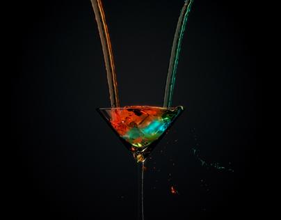 cocktail Realflow cinema 4d