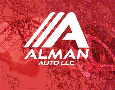 Alman Auto Logo & Branding Project