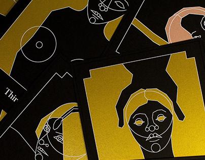 Häxa - Witch Illustration Cards