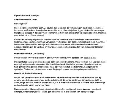 Butik Batik Nederland