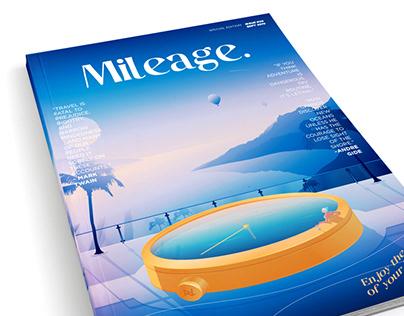 Mileage Magazine Illustration