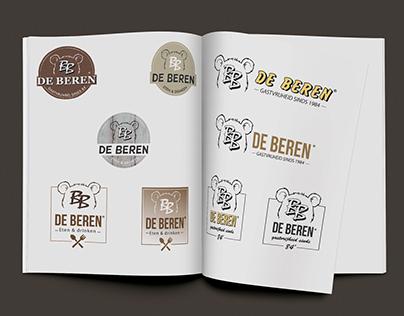 Logo restyle concepten 'De Beren'