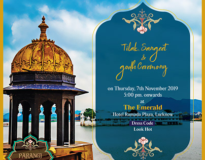 Indian Traditional Wedding Invite