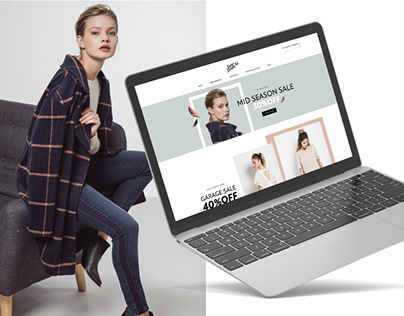 Online store design - Sans Doute
