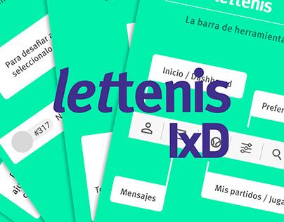 Lettenis | Diseño de Interacción