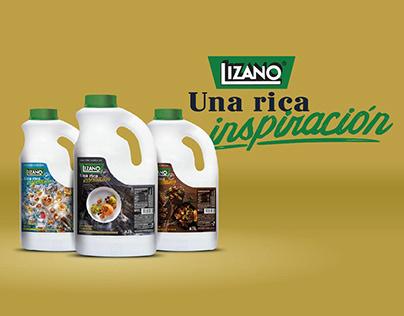 Empaque Lizano UFS Rica Inspiracion