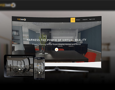 Web Design: Virtual Reality Showroom