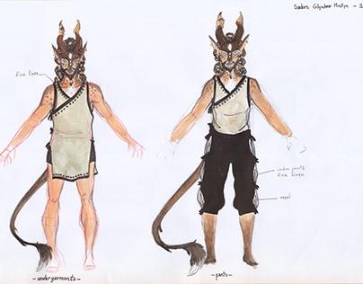 D&D Character Design
