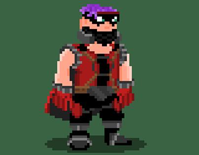 Pixelart character Leadirium