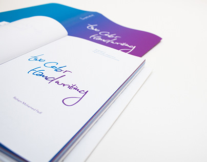 Two Color Handwriting // Collection Book