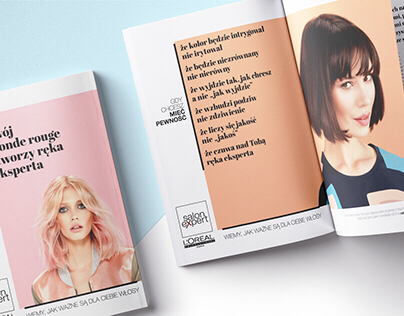 l'oreal salon expert // campaign