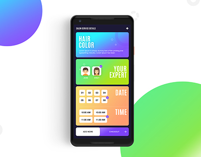 Service Booking | Android | UI/UX