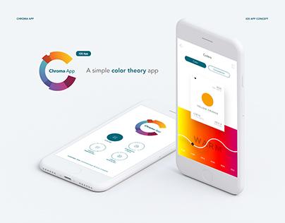 Chroma App - iOS App Concept