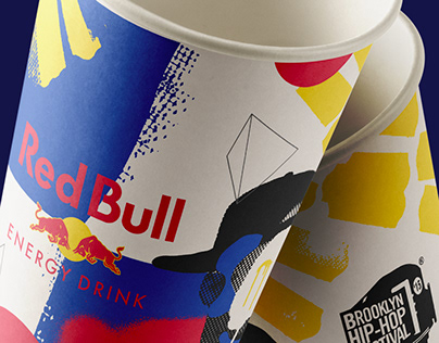 Red Bull On Premise | Cups and Poster
