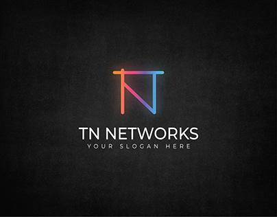 TN Networks Logo Design