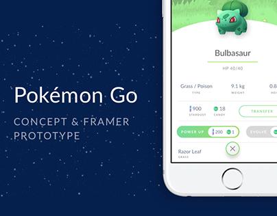 Pokémon Go - Concept & Prototype
