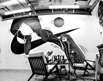 Nike NYC Mural