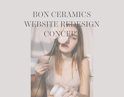 BON ceramics e-commerce