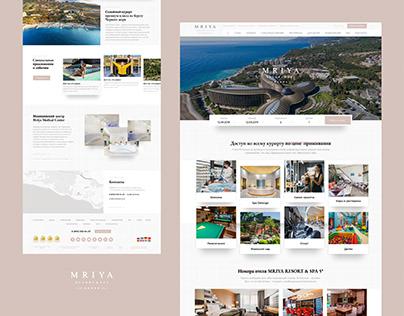 Отель в Крыму (design concept)
