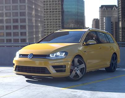 3D Car Concept Shot