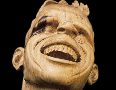 Creative Wood Sculpture