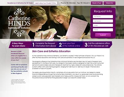 Catherine Hinds Institute of Esthetics: Lead Generation