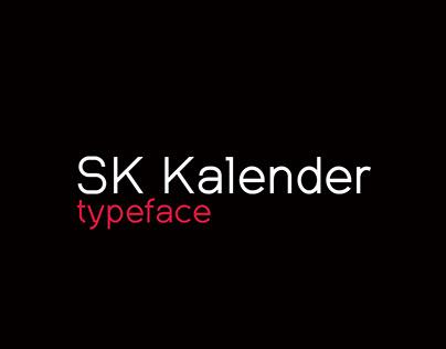 SK Kalender Typeface