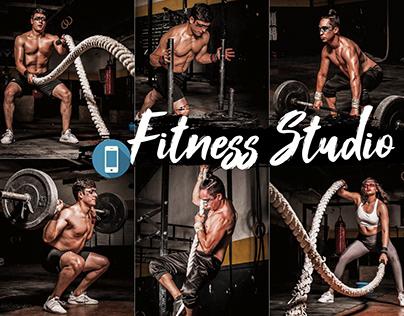 Fitness Studio Mobile Lightroom Presets