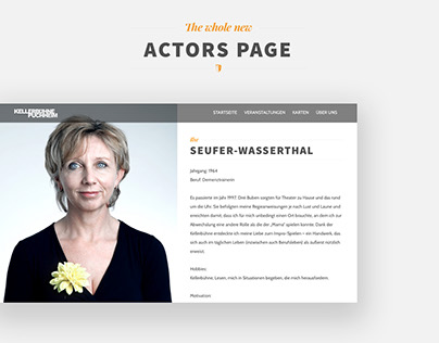 Theatre Website