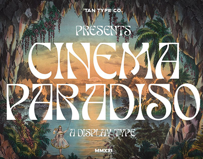 PARADISO - Display Font