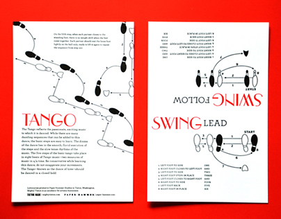 Dance Step Cards