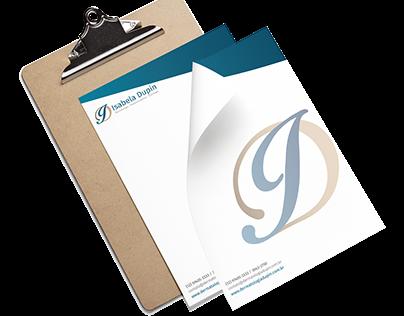 Criação de logo, site, cartão de visita e receituário.